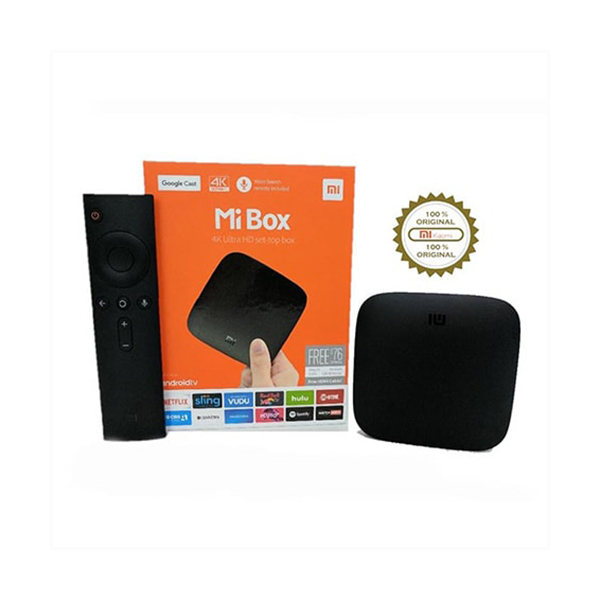 Xiaomi Mi Box 3 Android 4K TV Box (Global Version)