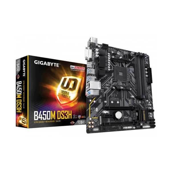 Gigabyte B450M DS3H AM4