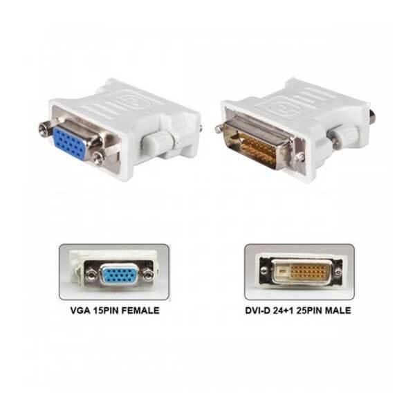 VGA to DVI-D Port Converter