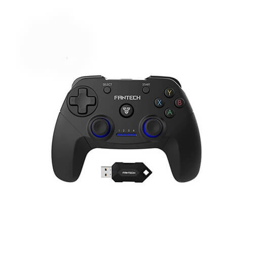 FANTECH Revolver WGP12 Gamepad Specification Wireless 2.4GHz gaming controller Buttons: 17pcs Vibration: yes Battery: 600mAh Wireless range: 7m-8m Charging time: Approx 3 hours Stand by time: 10 hours Weight: 182g 1 Year Warranty FANTECH Revolver WGP12 Gamepad in Bangladesh Related Video: FANTECH REVOLVER WGP12 WIRELESS GAMING CONTROLLER Wireless 2.4GHz gaming controller Buttons: 17pcs Vibration: Yes Battery: 600mAh Stock: In Stock Brand: Fantech Model: Revolver WGP12 Product Views: 3210 Based on 0 reviews. - Write a review 2,150৳ 2,500৳ 1 Ask Our Experts For Details Live Chat | 09613828201 | Email Product image for illustration purposes only. Actual product may vary Due to shortage of products, it may not be possible to deliver specific model processors, motherboards, graphics cards and single products at this time.